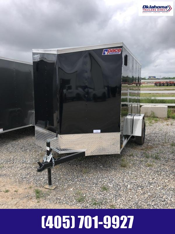 2021 Pace American 6' X 10 Enclosed Cargo Trailer
