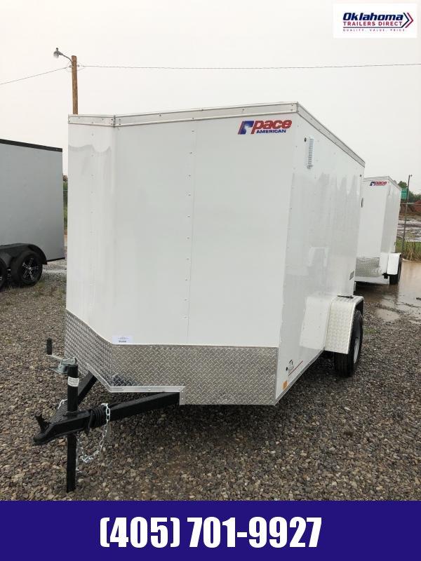 2021 Pace American 6' x 10' SA Enclosed Cargo Trailer