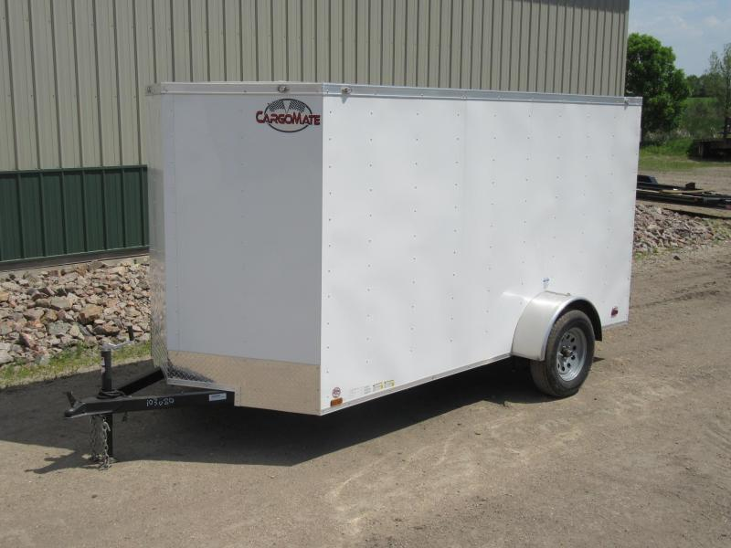 2020 Cargo Mate 6'x12'  Enclosed Trailer