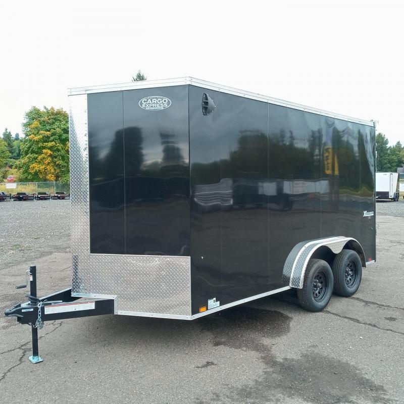7.5x14 Enclosed Cargo Trailer **Side X Side**