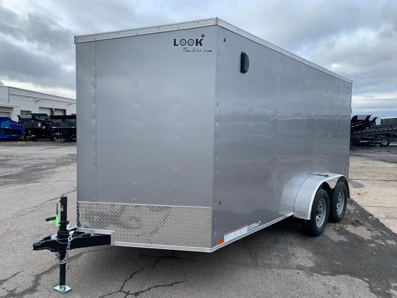 2021 Look Trailers 7x14 7K Enclosed Cargo Trailer