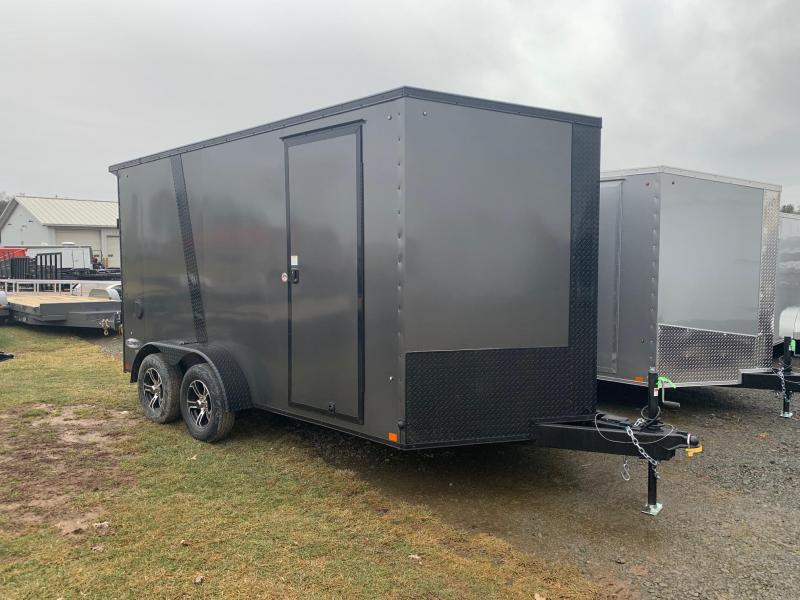 2021 Look Trailers 7x14 7K Black Out Enclosed Cargo Trailer