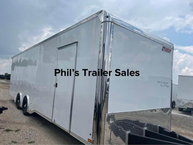 8.5 X28  Pace American TORSION SPREAD  AXLES Enclosed Cargo Trailer