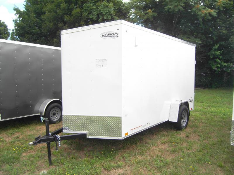 2020 Cargo Express EX DLX 6X12 Enclosed Trailer