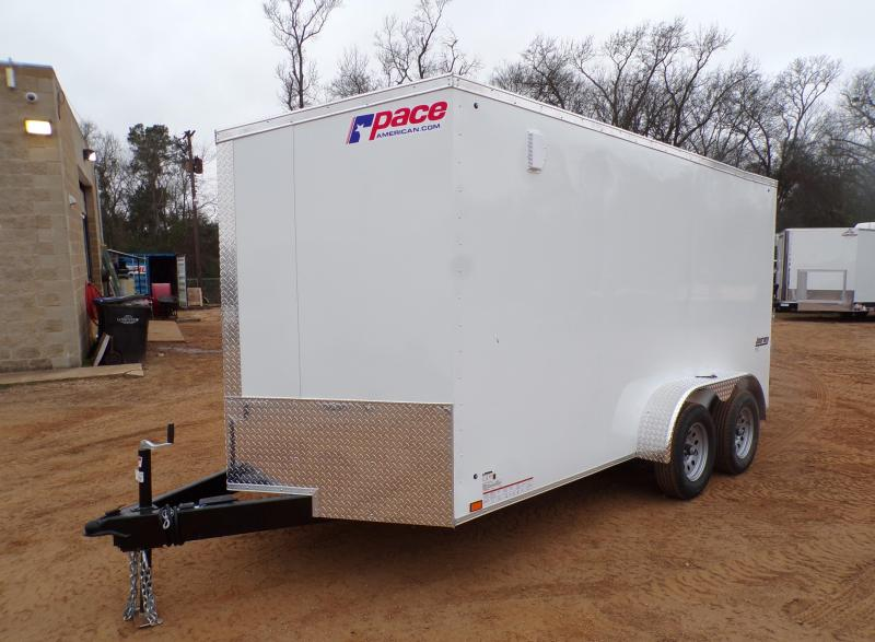 2021 Pace American 7 x 14 Journey SE Slanted V-Nose Enclosed Cargo Trailer