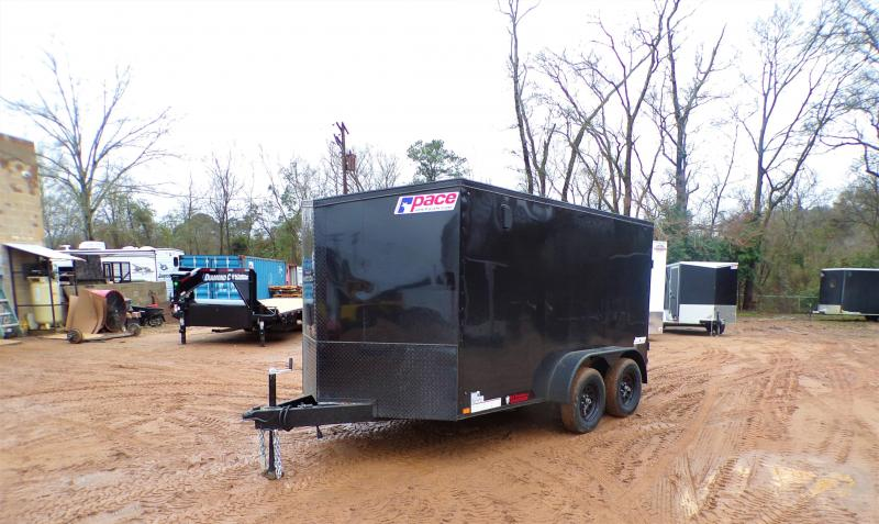 2021 Pace American 7 x 12 Journey SE Enclosed Cargo Trailer