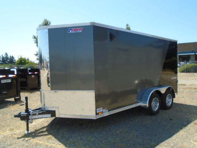 2022 Pace American Cargo Sport 7X14 +2 Foot Bullnose With 6