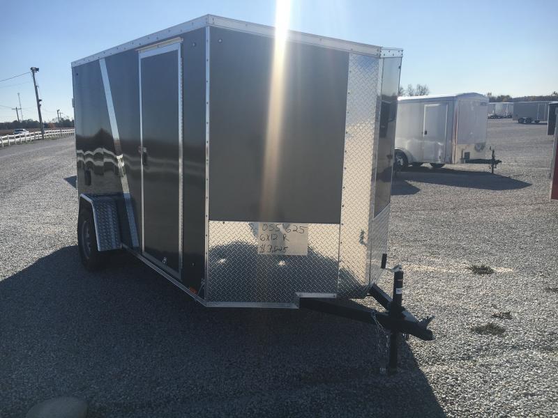 2020 Cargo Express 6X12 Enclosed Ramp Door Trailer