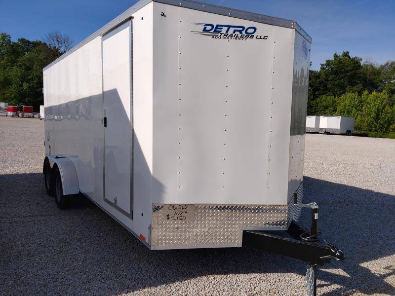 2021 Cargo Express 7X18 Enclosed Swing Door TA Trailer