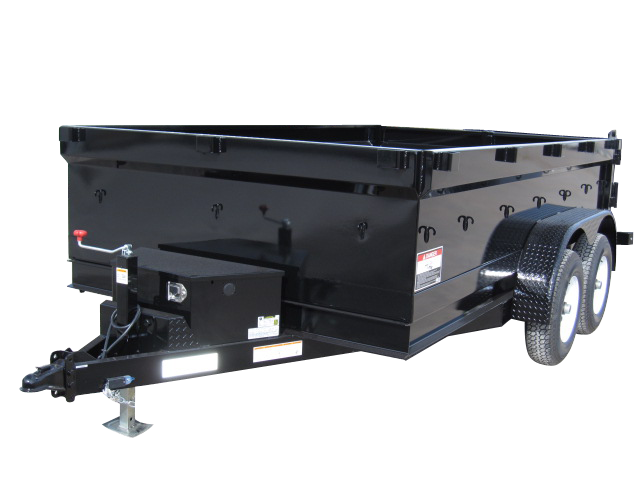 2021 Innovative Trailer Mfg. 7 x 10 Dump Dump Trailer