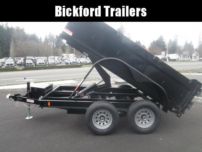 2021 Innovative Trailer Mfg. Comp 7 x 12 Dump Trailer
