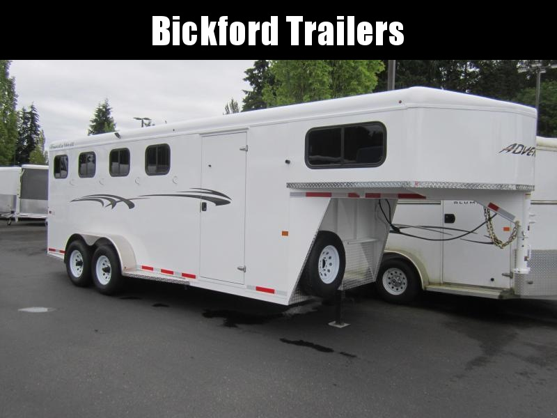 2020 Trails West Adventure MX Horse Trailer