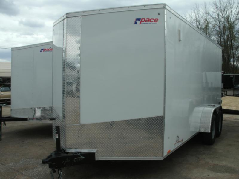2022 Pace American Journey 7 Wide Tandem Cargo / Enclosed Trailer