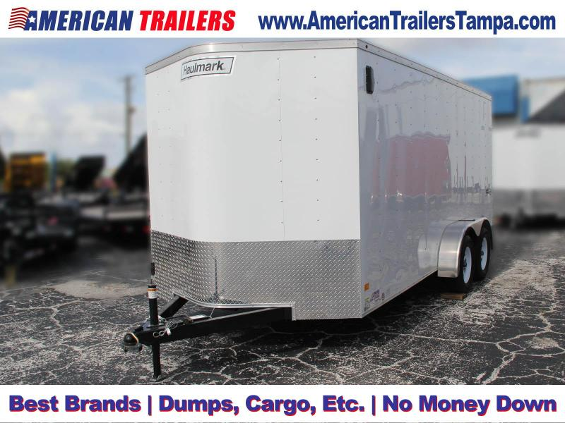 7x16 Haulmark Passport | Enclosed Trailer