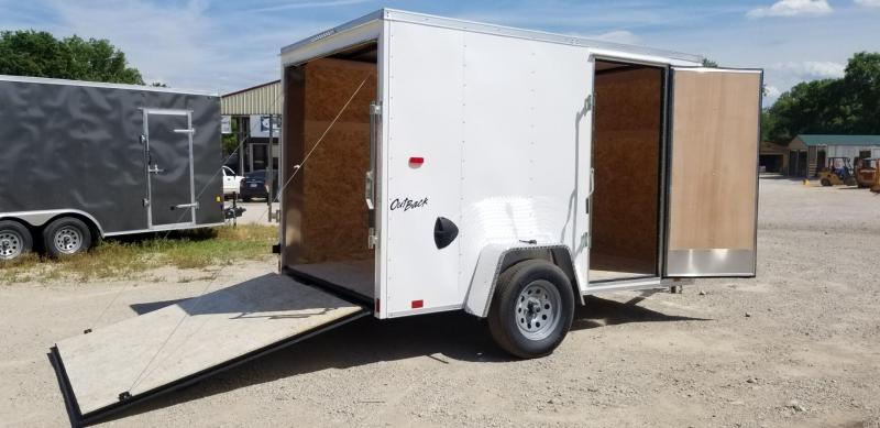 2022 Pace 6x10 Outback Enclosed Cargo Trailer 3k GVWR