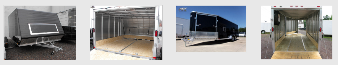 Snowmobile trailers