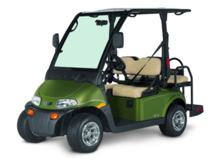 EZGO 2Five 4 passenger golf car rentals