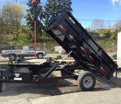 Eagle Series Single Axle Dump Trailers