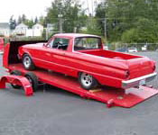 Roll Back Car Haulers