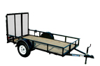 View All Single Axle Utility Trailers