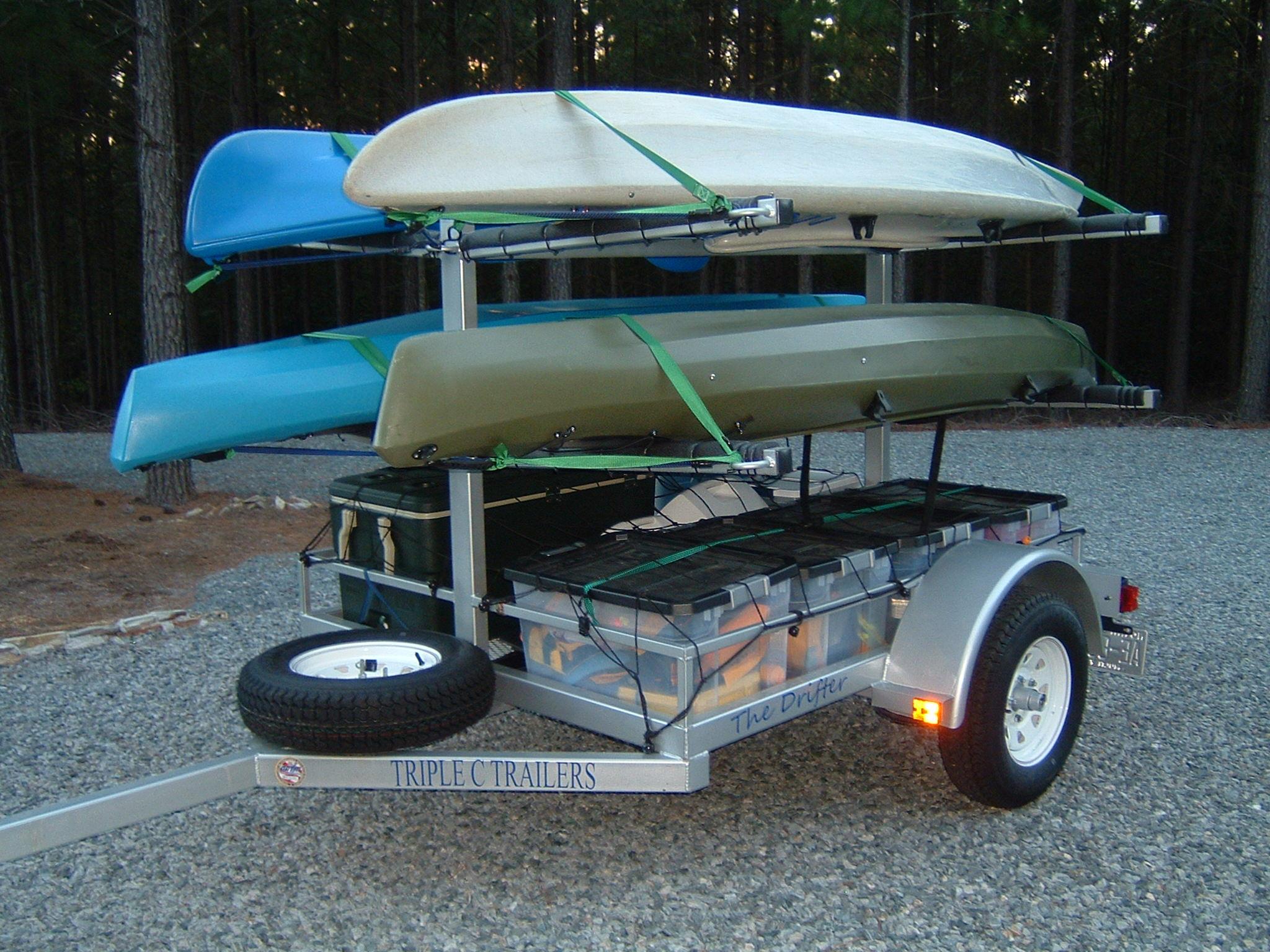 drifter kayak trailers