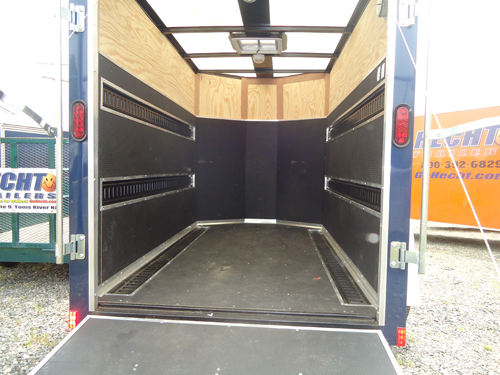 Enclosed Trailer Shelving >> 5X8 Enclosed Trailer Rental | Trailers, Storage ...