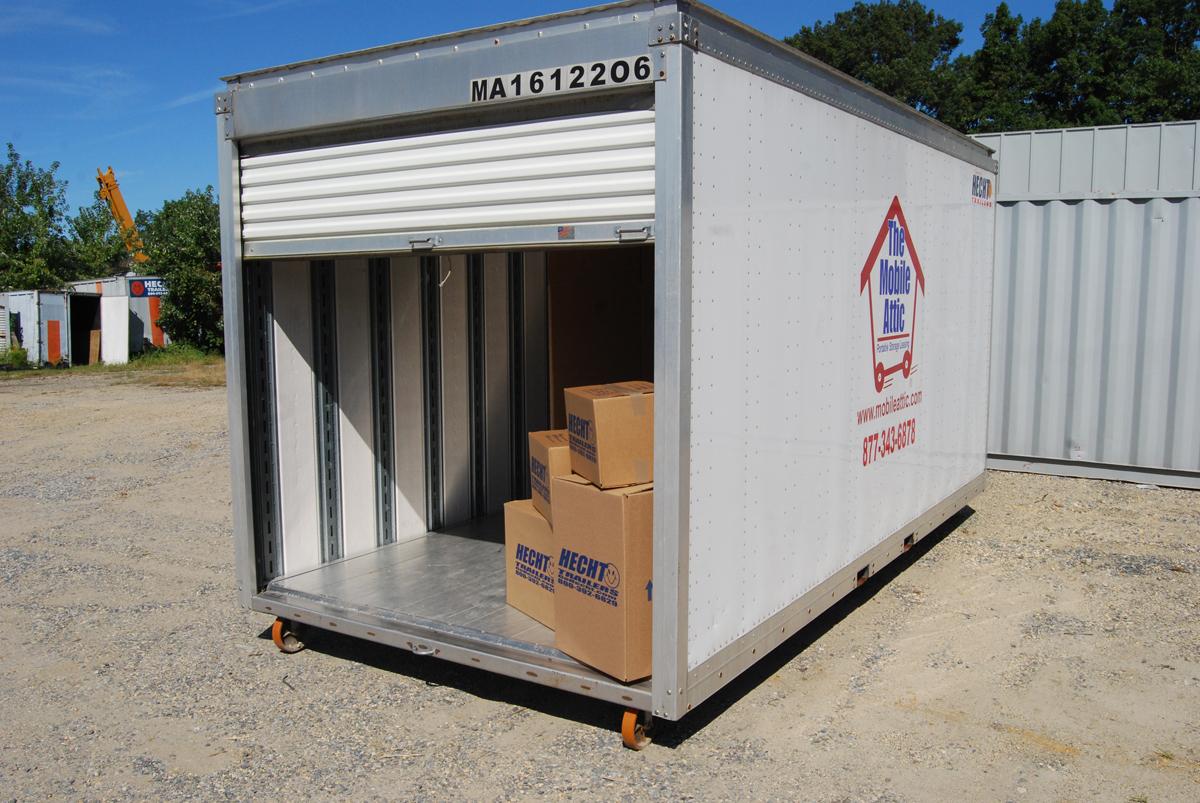 Mobile Attic Trailers Storage Containers Trailer