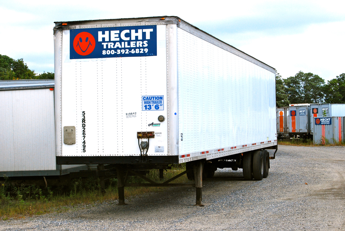 Dock Height Trailers Trailers Storage Containers