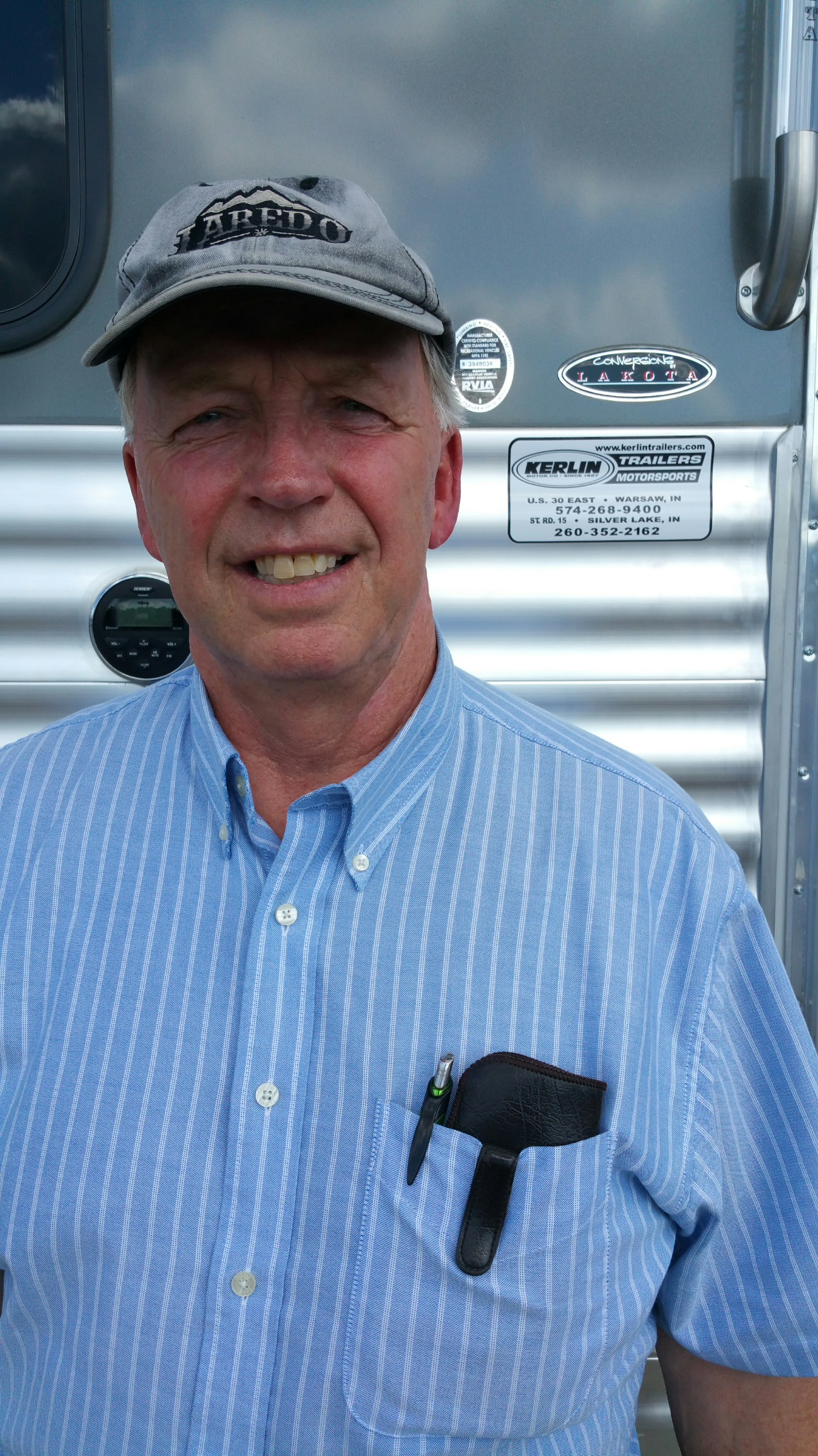 Mike Cox profile at Kerlin Trailers