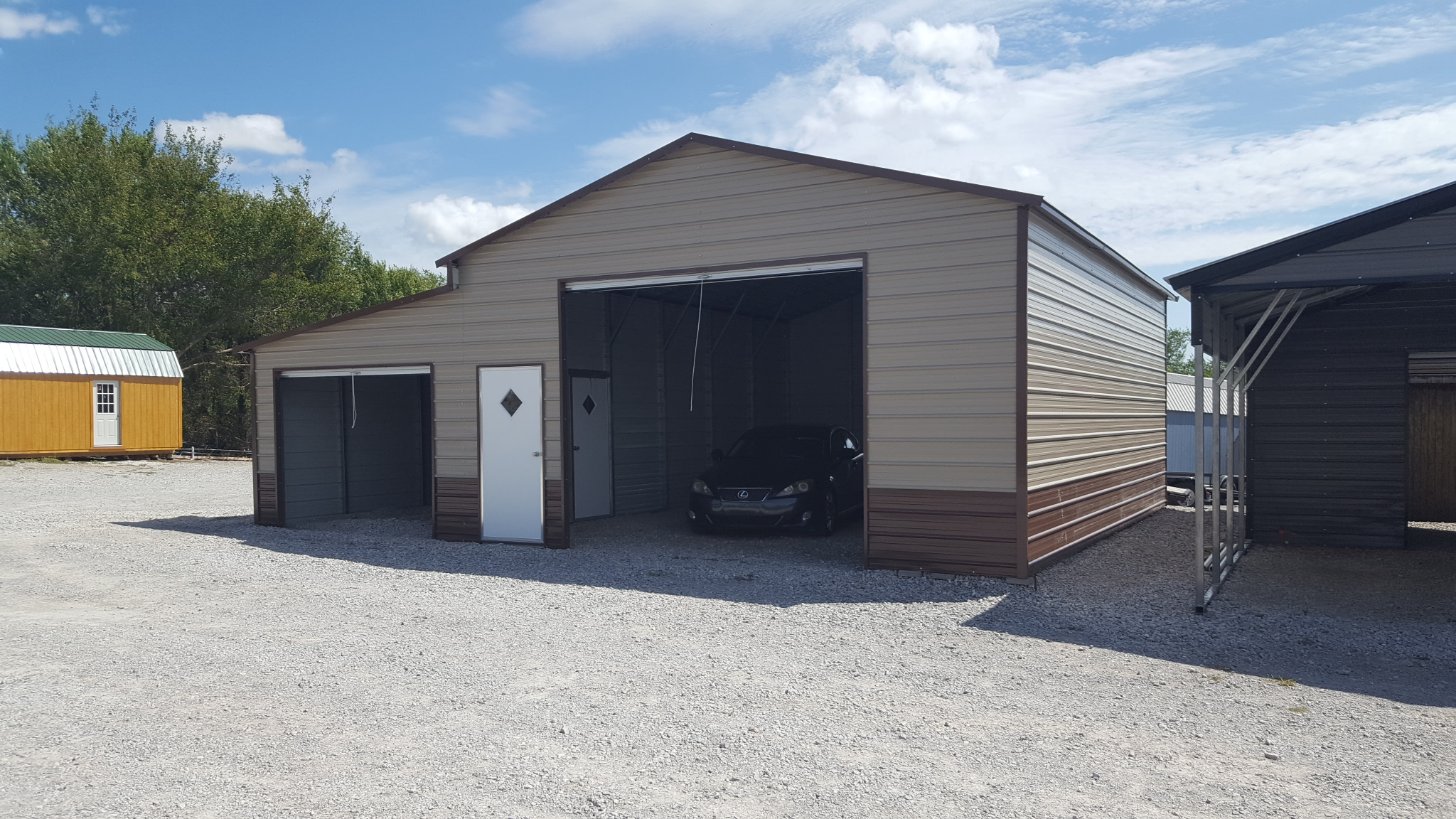 Portable Metal Carports Florida : Home trailers portable storage buildings and carports