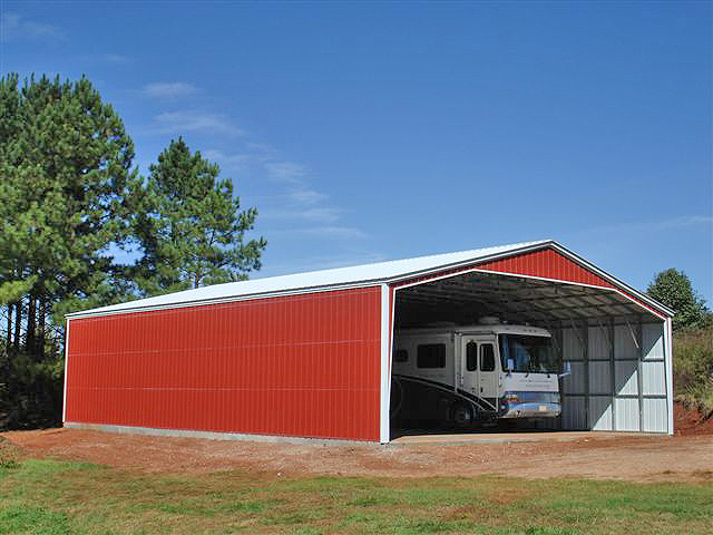 Home trailers portable storage buildings and carports for Garages and carports