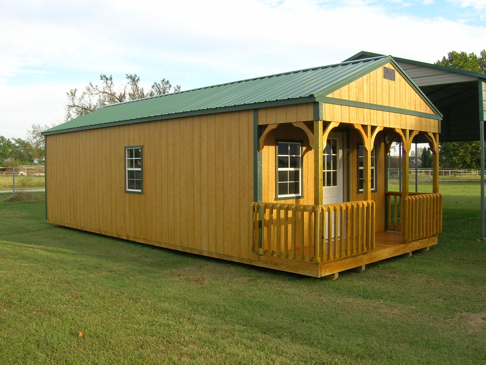 PORTABLE BUILDINGS | Garages, Barns, Portable Storage ...