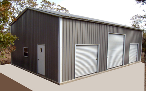 Home garages barns portable storage buildings sheds for 3 car garage metal building