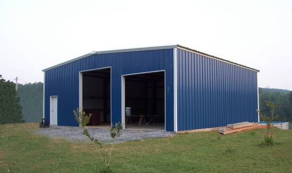 Home garages barns portable storage buildings sheds for Metal barn for sale