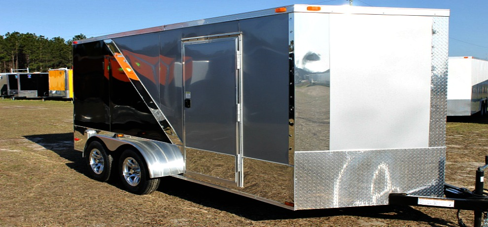 Enclosed Car Hauler Trailer Near Me