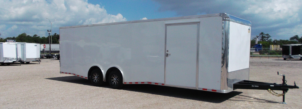 Enclosed Car Trailer For Rent Houston