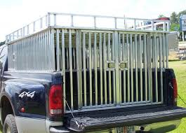 Metal Fabrication: Custom Dog Box for Truck in Florida