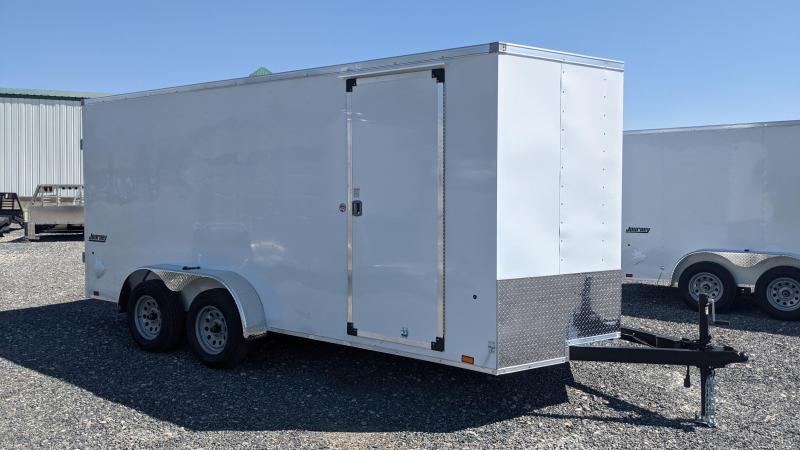 New! 2022 Pace American 7x16 Journey Enclosed Trailer w/ Barn Doors