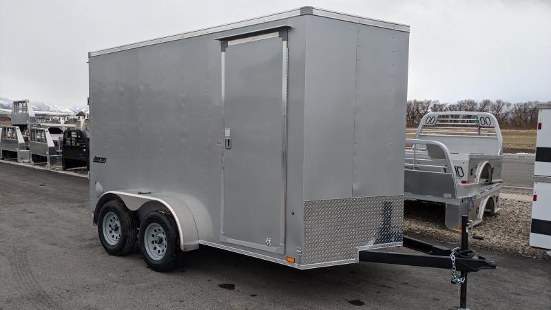 New! 2021 Pace American 7X12 Enclosed Cargo Trailer W/ Ramp Door