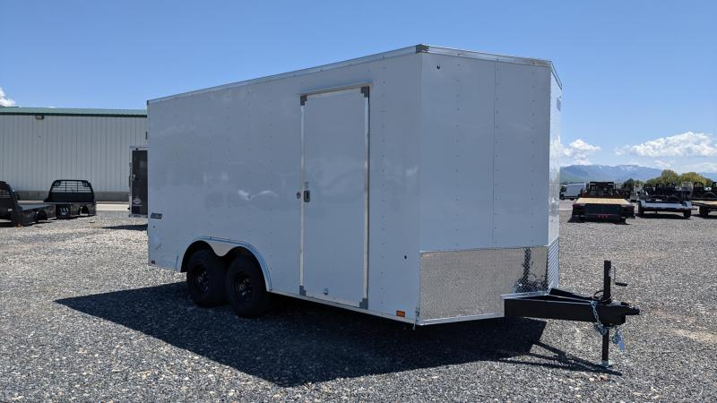 New! 2022 Pace American 8.5x16 Enclosed Trailer w/ 5.2k Axles and Barn Doors