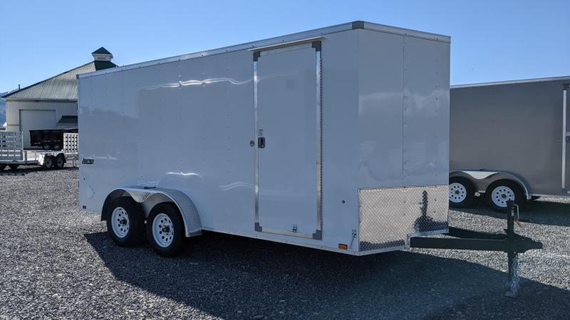 New 2021 Pace American 7x16 Enclosed Cargo Trailer w/ Barn Doors