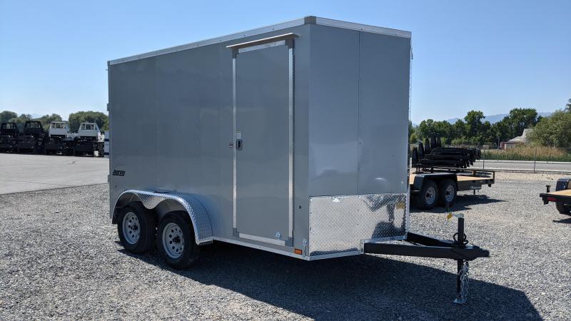 New! 2022 Pace American 7X12 Enclosed Cargo Trailer W/ Ramp Door