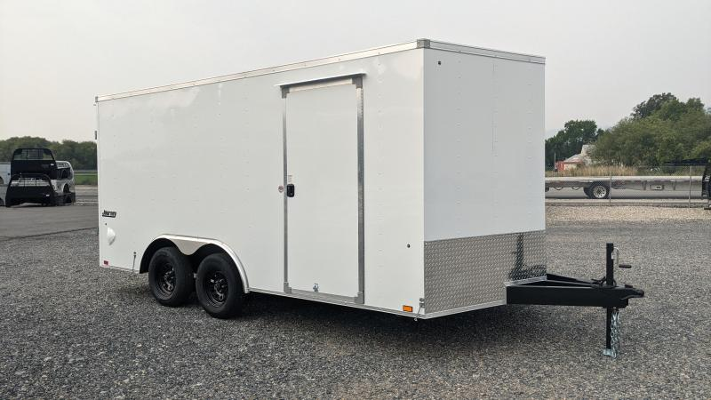 New! 2022 Pace American 8.5x16 Enclosed Trailer w/ Barn Doors