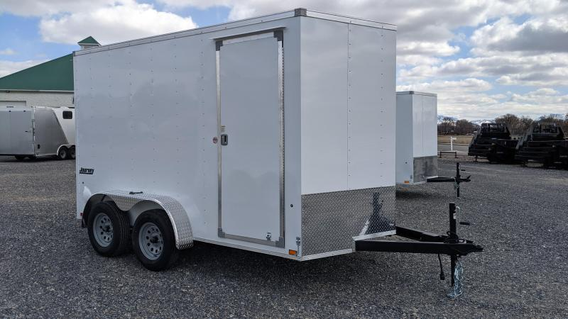 New! 2022 Pace American 7X12 Journey Enclosed Cargo Trailer