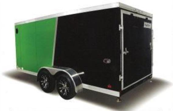 2018 Haulmark HMVG712T (5000 Trim Level) Enclosed Cargo Trailer