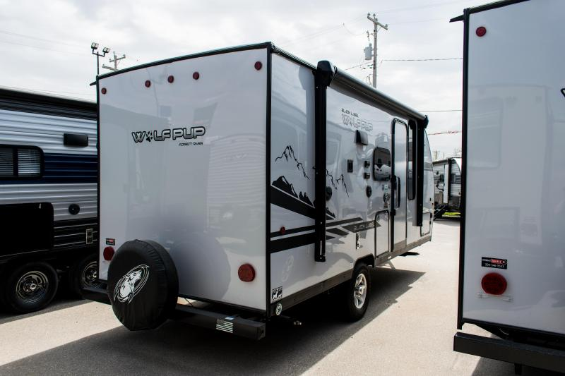 2020 Wolf Pup Black Label 16PF Travel Trailer W/Slide-out ...