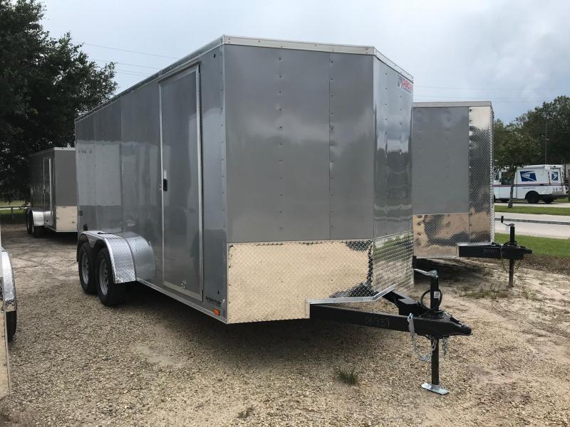 2022 Pace American 7x16 PSCBA7.0X16TE2FE (JV7x16TE2) Enclosed Cargo Trailer