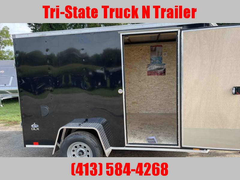 2022 Look Trailers DLX 6x10 Enclosed Cargo Trailer w/ramp
