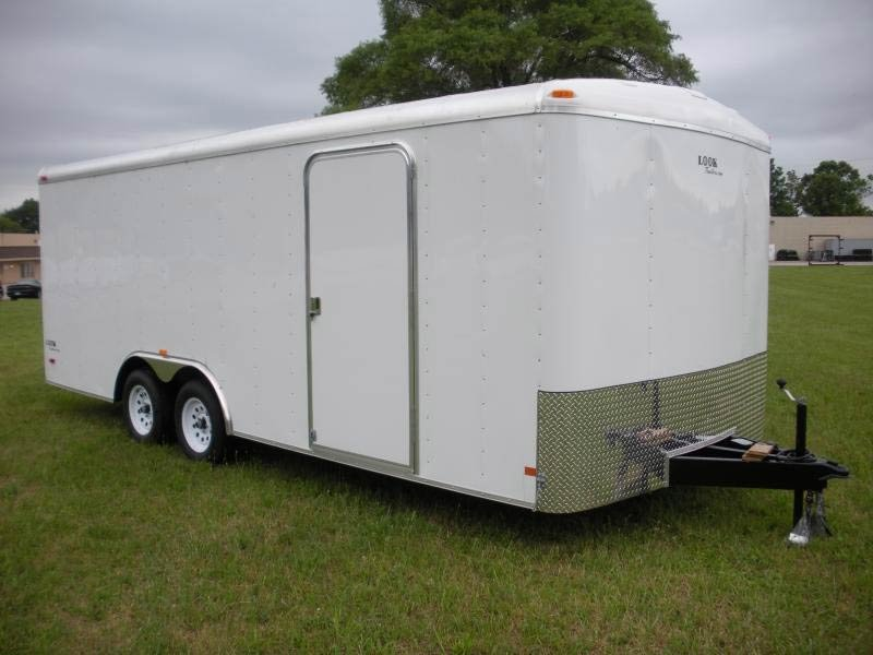 2018 Look Trailers Element Round Top Se Cargo Cargo / Enclosed Trailer