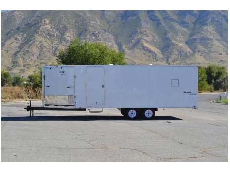 2018 Look Trailers Element Puresport Deckover Cargo / Enclosed Trailer